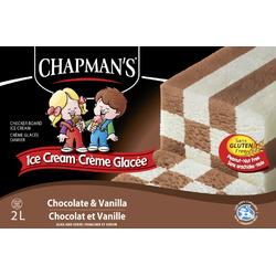 Chapman's Original Chocolate & Vanilla Checkerboard Ice Cream