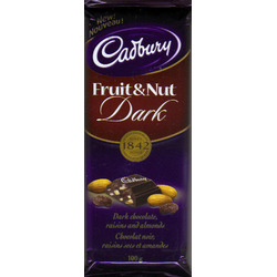 Dairy Milk Fruit and Nut Dark Chocolate