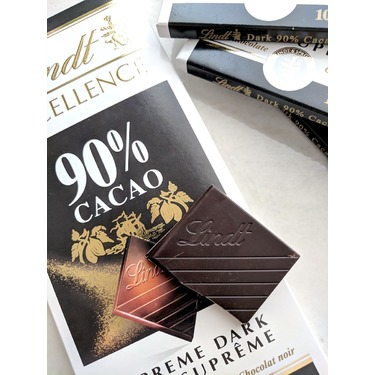 Lindt Excellence 90% Cocoa Dark Chocolate