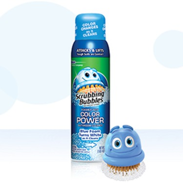 Scrubbing Bubbles Bathroom Cleaner With Color Power Technology Reviews In Household Cleaning Products Familyrated Page 4