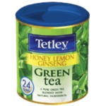 Tetley Honey Lemon Ginseng Green Tea
