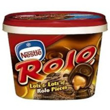 Nestle Rolo Ice Cream