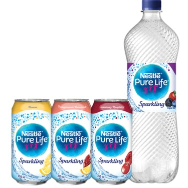 Nestlé Pure Life Sparkling Carbonated Natural Spring Water reviews