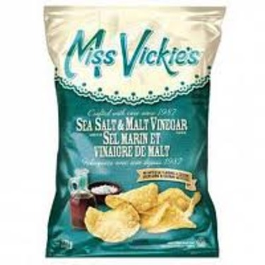 Miss Vickie's Sea Salt and Malt Vinegar Potato Chips