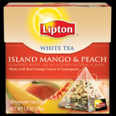 Lipton White Tea Peach and Mango Pyramid Tea Bags