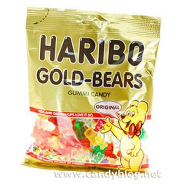 "Haribo Gold ""Gummy"" Bears  Candy"