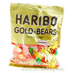 "Haribo Gold ""Gummy"" Bears  Candy"