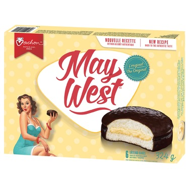 Vachon The Original May West Cakes