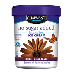Chapman's No Sugar Added Ice Cream