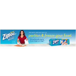 Ziploc Perfect Portions Freezer Bags