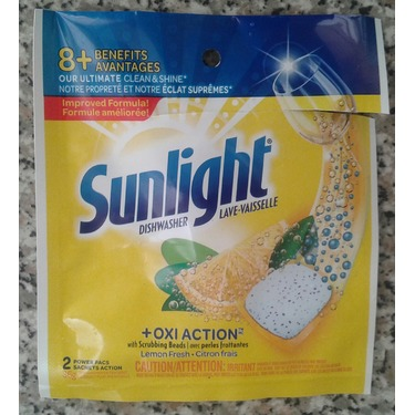 Sunlight® OxiAction Power Pacs Lemon Fresh