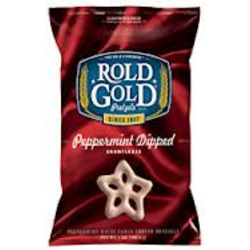 Rold Gold Peppermint Dipped Snowflake Pretzels