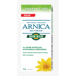 Rub A535 Natural Source Arnica Gel Cream