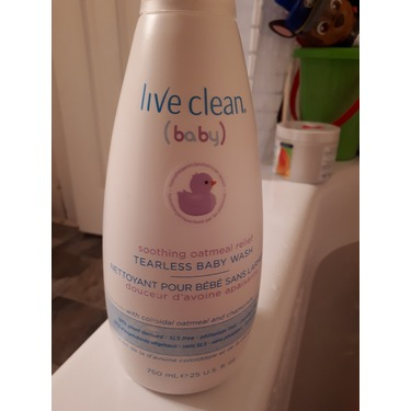 Live Clean Baby Tearless Shampoo and Wash