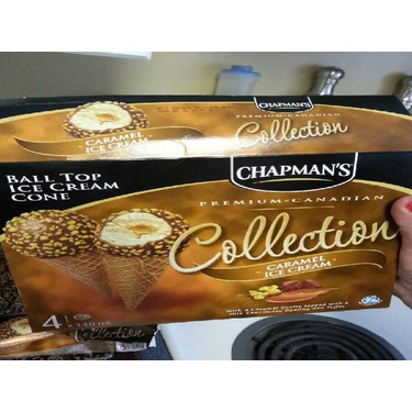 Chapman's Ice Cream in Caramel