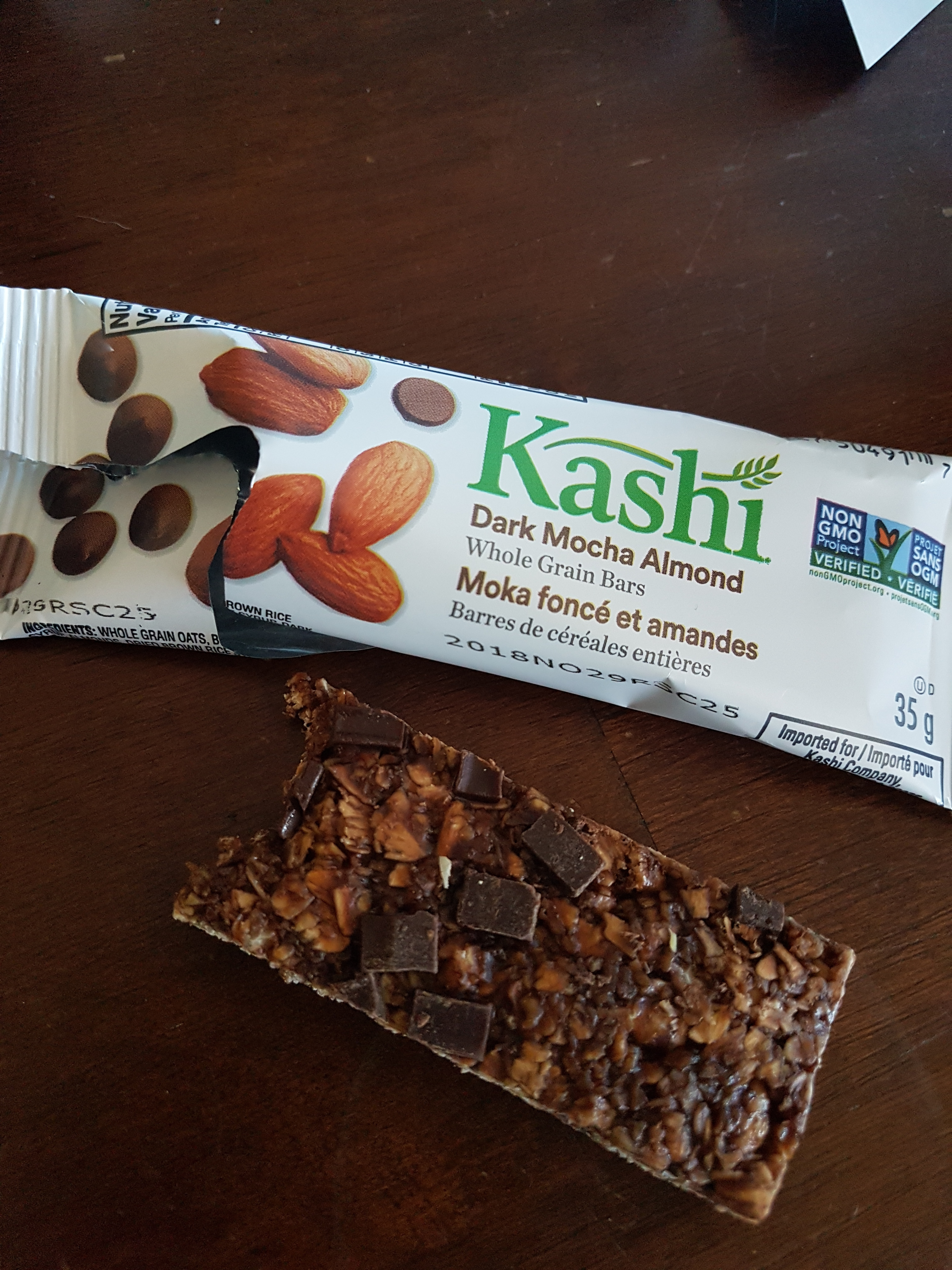 Kashi Dark Mocha Almond Chewy Granola Bars reviews in