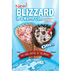 Dairy Queen - Blizzard in a Cone
