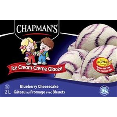 Chapman's Ice Cream - Blueberry Cheesecake
