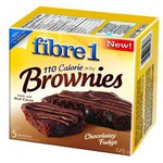 Fiber One 110 Calories Brownies