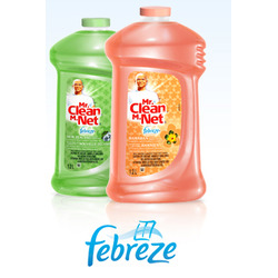 Mr. Clean Febreze Hawaiian Aloha
