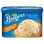 Breyers Family Classic Chocolatey Chip Cookie Dough Frozen Dessert