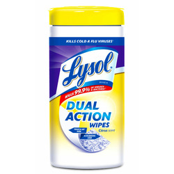 Lysol Dual Action Disinfecting Wipes