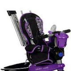 4-in-1 smart trike in purple