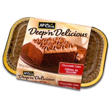 McCain Deep 'n Delicious Chocolate Cake
