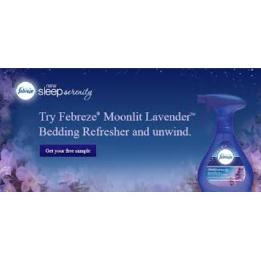 Febreze  Bedding Refresher Sleep Serenity