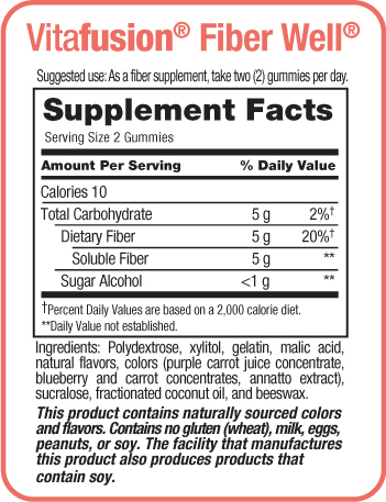 Vitafusion Fiber Well Gummies reviews
