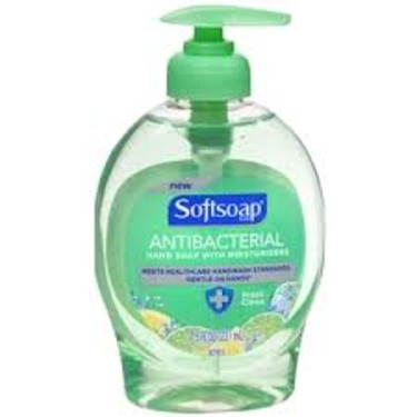 Softsoap Antibacterial Liquid Hand Soap Crisp Clean