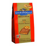 Ghirardelli Milk Chocolate with PB Filling Squares