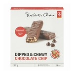 PC Dipped & Chewy Granola Bars - Chocolate Chip