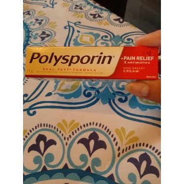 POLYSPORIN® Plus Pain Relief Cream