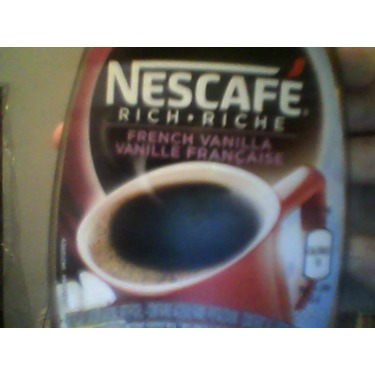 Nescafe Rich French Vanilla Instant Coffee