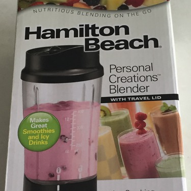 Hamilton Beach Single Serve Blender With Travel Lid Reviews In Food