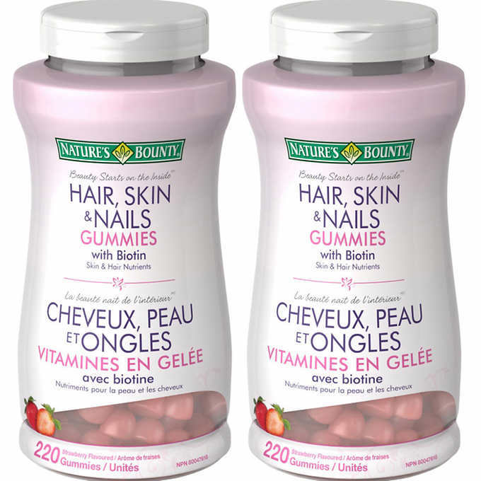 Nature S Bounty Hair Skin Nails Gummies Reviews In