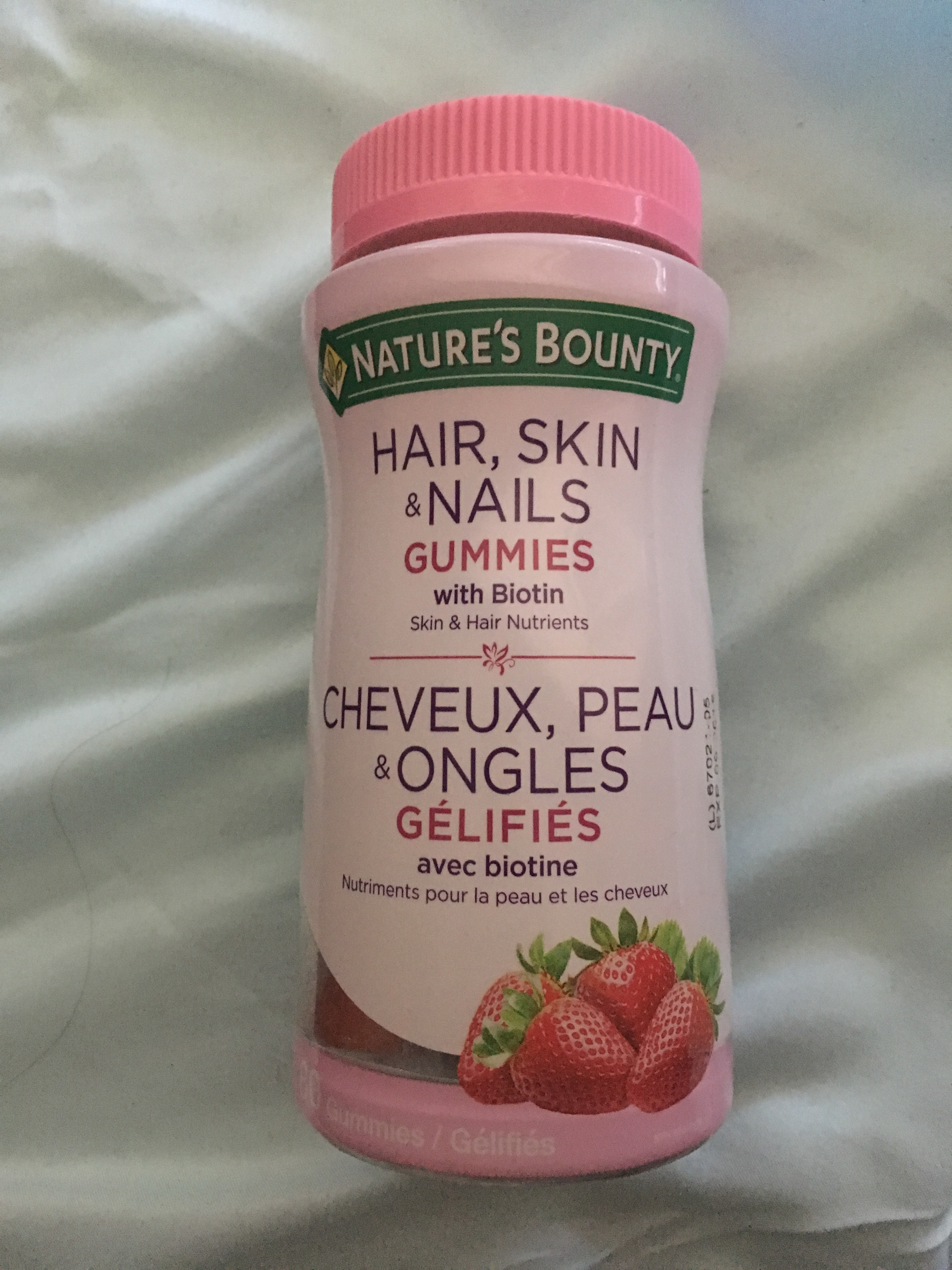 Nature\'s Bounty Hair, Skin & Nails Gummies reviews in Supplements ...