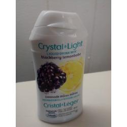 Crystal Light Liquid Drink Mix Blackberry Lemonade