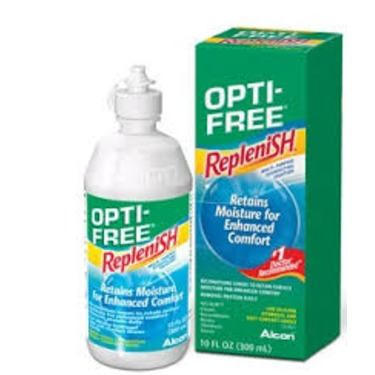 Opti-Free Replenish Contact Lens Solution