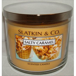 Bath & Body Works 3 Wick Candle in Salted Caramel