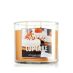 Bath & Body Works 3 Wick Candle in Pumpkin Cupcake