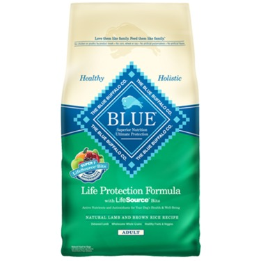 Blue Buffalo Lamb And Brown Rice Adult Dog Food Reviews In Dog Food
