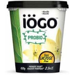 IOGO Lactose Free Yogurt
