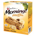 Vachon Morning Muffin Banana And Chocolate Bars