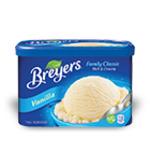 Breyers Family Classic French Vanilla Frozen Dessert