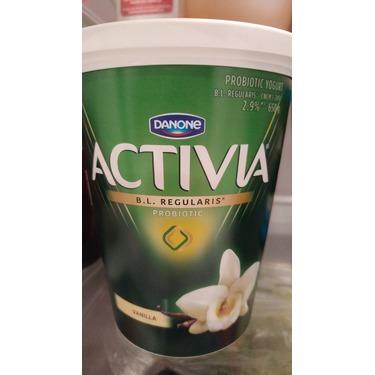 Danone Activia Probiotics Vanilla Yogurt