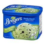 Breyers Family Classic Mint Chocolate Chip Frozen Dessert
