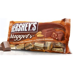 Hershey's Nuggets Extra Creamy Milk Chocolate with Toffee & Almonds