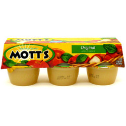 Mott's Apple Sauce Original